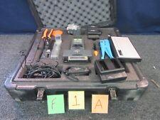 KITCO S121 FITEL FIBER OPTIC SPLICER KIT CABLE CASE WIRE MILITARY SURPLUS USED