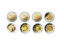 2 Euro Gedenkmünzen Luxemburg 2004 - 2011 incl. Wappen