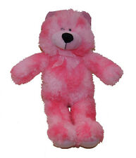 Brightly Coloured Bear in Pink 35cm
