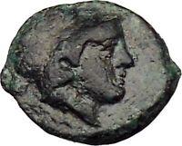 Mesembria in Thrace 350BC Rare Ancient Greek Coin Athena Minerva   i29647