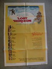 Lost Horizon Peter Finch 1972 orginial movie poster 27X41 111916116
