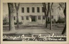 Holyoke CO County Court House Real Photo Postcard