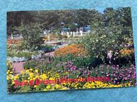 Josie F. Prescott Memorial Gardens, Portsmouth New Hampshire Vintage Postcard