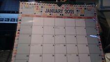 2021 SPIRAL Hanging MONTHLY Wall Calendar Planner Organizer Festive 12 Months