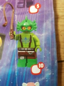 Lego 71023 SWAMP CREATURE LEGO MOVIE 2 Genuine Lego Minifigure Series