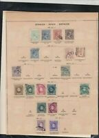 spain 1876/1905 stamps page ref 18205