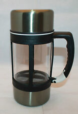 Starbucks Coffee Barista 2004 Stainless French Press Insulated Travel Mug 24oz