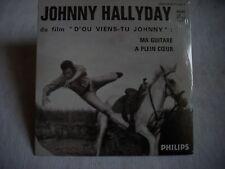 CD Johnny Hallyday BOF D'OU VIENS TU JOHNNY?-MA GUITARE-A PLEIN COEUR-Neuf
