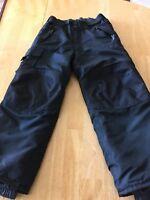 CHAMPION Venture Dry Black/Gray Snow Pants Size XS (4-5)