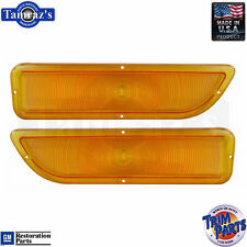 62-66 GMC Pick Up C/K Pickup Truck Turn Signal Parking Light Lamp Lens PR AMBER
