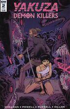 Yakuza Demon Killers #2 (Of 6) Subscription Variant Comic Book 2017 - IDW