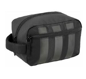 Adidas Unisex Team Toiletry Kit, Black, One Size