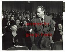 JIM JORDON - PHOTOGRAPH - AUTOGRAPH - 1945 - FIBBER MCGEE AND MOLLY- DISNEY