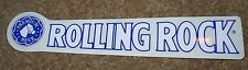 ROLLING ROCK Blue Logo STICKER decal craft beer brewing brewery