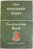Standard Eight 1953-54 2nd printing 1st Edition Car Owners Handbook