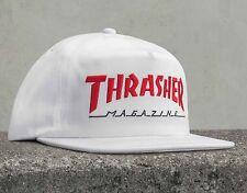 THRASHER MAGAZINE dos tonos Snapback Cap Blanco/Rojo