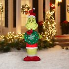 ✅ The Grinch Inflatable 5.5 ft Christmas Gemmy Dr. Seuss FREE SAME DAY SHIPPING