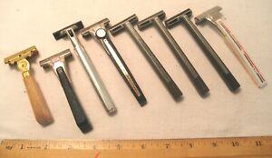 Vintage Gillette Schick Injector Razors Bakelite Handle Shaving Razor
