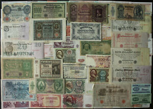 Lot 100 PCS Different World Banknotes Old Europe Paper Money Vintage Currency