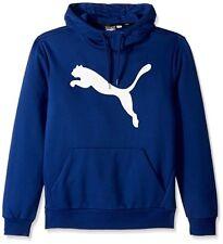 NWT Men's Blue Puma Ess Big Cat Hoodie Size Medium Very Nice!!