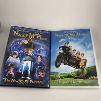 Nanny McPhee & Returns Part 2 DVD Set Emma Thompson Colin Firth Angela Lansbury