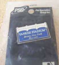 Yankee Stadium frieze pin MLB NY New York Yankees psg