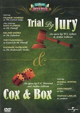 Gilbert & Sullivan - Trial By Jury / Cox & Box [DVD] With Production Libretto's