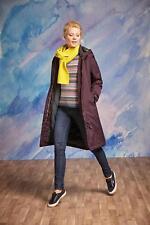 Seasalt RAIN® Janelle Waterproof Hooded Fleece Lined Coat Aubergine size 10 BNWT