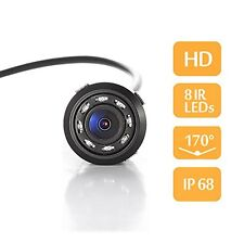 Beast Audio 8 LED Waterproof Night Vision Car Rear View Reversing Parking Camera