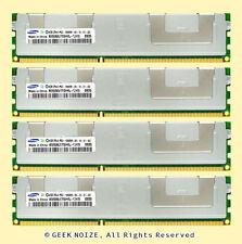 Server RAM 16GB 4x 4GB PC3-10600R ECC REG DDR3 1333 Memory LOT FITS Dell HP IBM