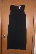 Covington black sheath dress. Size 8