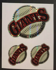2 Giants MLB Baseball Color Logo Sports Decal Stickers - FREE SHIPPING