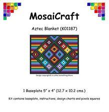 mosaicraft Pixel loisirs créatifs mosaïque de 'Aztèque COUVERTURE' pixelhobby