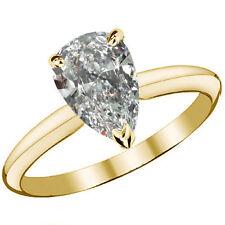 Very Good Cut Yellow Gold Fine Diamond Rings