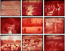 16mm - Disney - Johnny Tremain - The Shot Heard Round the World - 1200ft