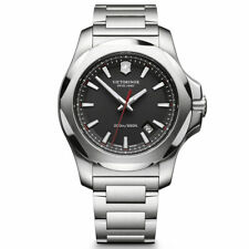 Victorinox Swiss Army Men's Watch I.N.O.X. Black Dial 241723.1