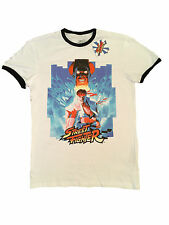 PRIMARK MENS STREET FIGHTER GAME RETRO ARCADE RYU T SHIRT OFFICIAL BNWT SMALL S