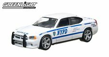Greenlight 1/64 Scale NYPD 2010 Dodge Charger New York City Police Car Model