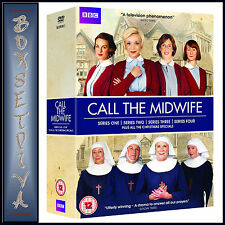 CALL THE MIDWIFE - COMPLETE SERIES 1 2 3 & 4 + ALL XMAS SPECIALS *BRAND NEW DVD*
