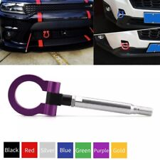 Purple Racing Tow Hook Front Bumper Trailer Ring for Subaru BRZ Fit Toyota 86