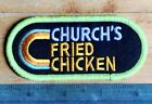 Vintage Old school Church's Fried Chicken Fast Food Restaurant Advertising Patch