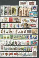 DDR   postfrisch 1987 komplett  ohne  Einzelmarken,Super