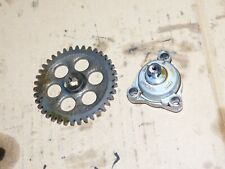 suzuki LT300E Quadrunner 300 engine oil pump gear lt160 lt230g ozark 87 88 1989