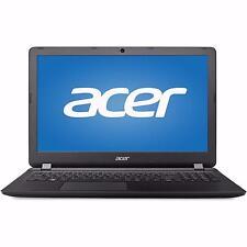 """New Acer 15.6"""" HD Laptop i3-6100U Dual-Core 4GB DDR3L 1TB HDD DVD RW W10 Black"""