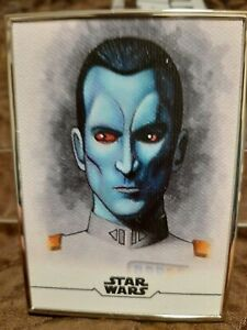 2020 Star Wars Stellar Signatures Sketch Reproduction Thrawn #96