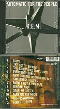 CD - REM - R.E.M. : AUTOMATIC FOR THE PEOPLE / EVERYBODY HURTS