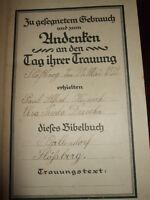 Die Bibel,KleinOktavausgabe,Traubibel,Dresden,1922,Heilige Schrift,Bilder s.Text
