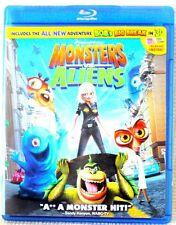 Monsters vs Aliens Blu-Ray Movie
