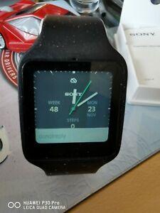 Sony Smart Watch 3 SWR50 Black/Stainless Hardly Worn