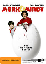 Mork and Mindy The Complete Series DVD Region 4 Robin Williams
